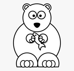 polar clip cartoon bear drawings hd kindpng