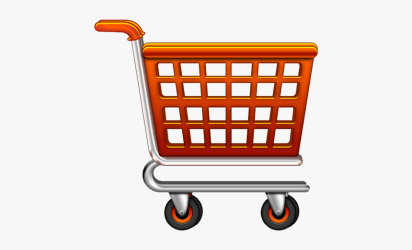Download And Use Shopping Cart Png Image Without Background Transparent Background Grocery Cart Icon Png Download kindpng