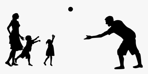 Clip Art For Free Download Family People Silhouette Png Transparent Png kindpng