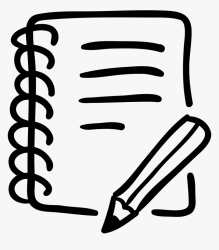 notebook writing pencil hand tools clipart drawn hd icon drawing kindpng klubschule lernplattform alyssa author rose excerpts