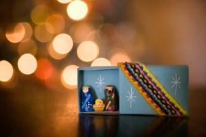 Mexican Nativity, Matchbox Nativity