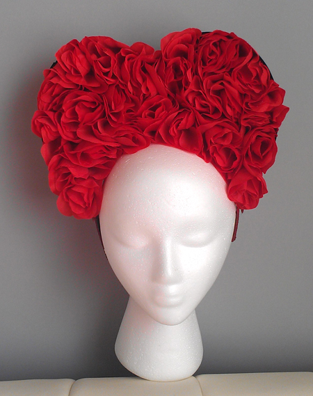 Queen of Hearts headpiece
