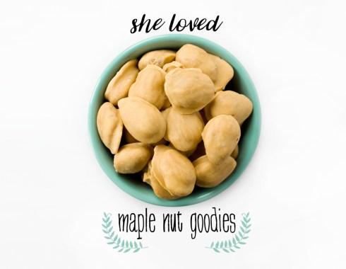 maple nut goodies