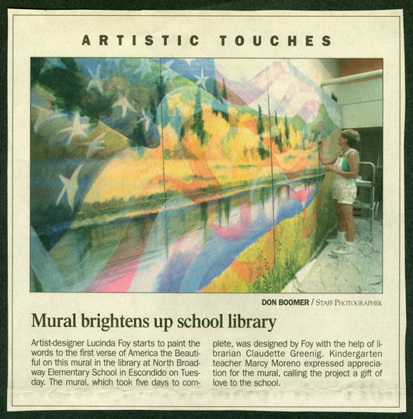 Article: North County Times of America the Beautiful