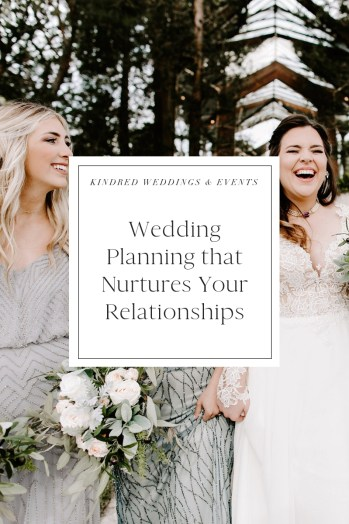 navigating healthy relationships while wedding planning