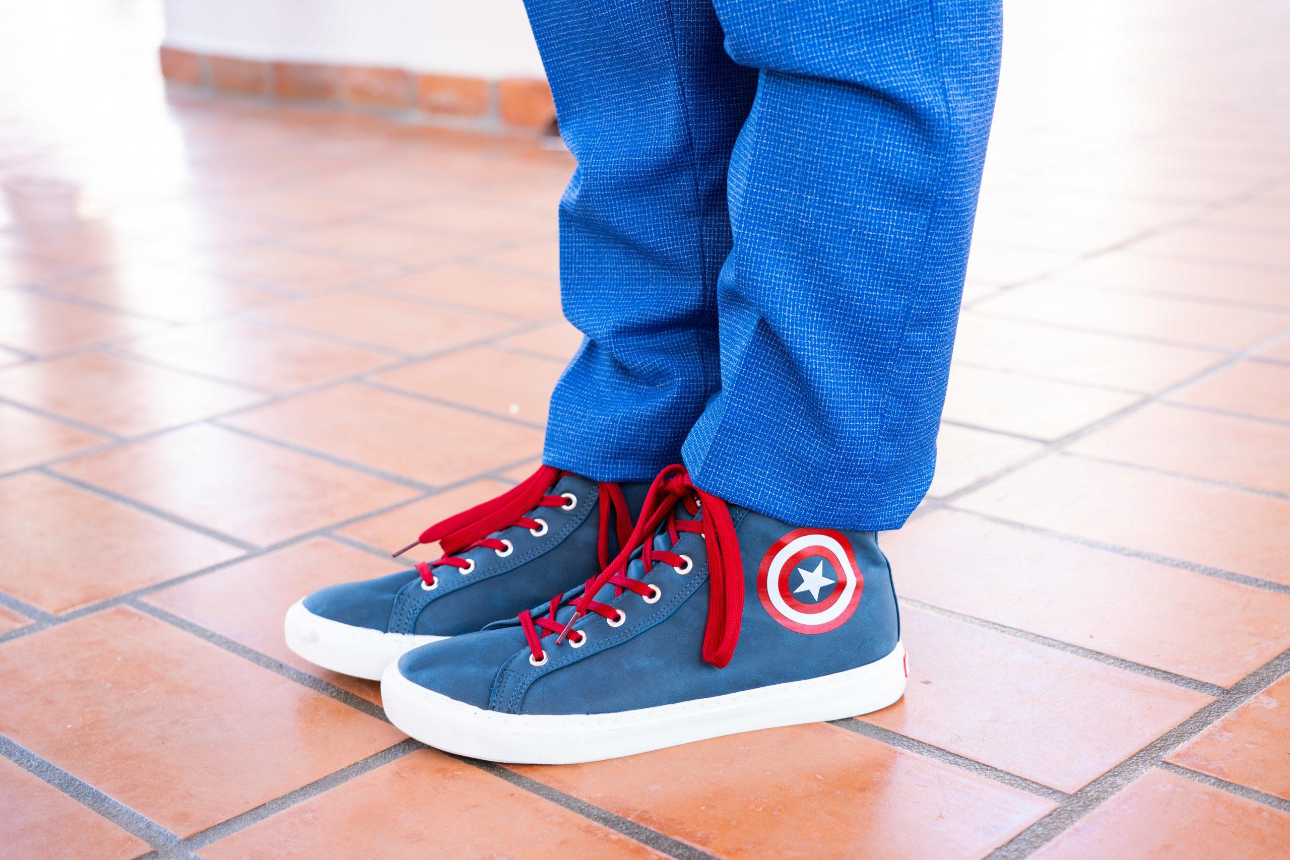 Grooms Marvel Sneakers