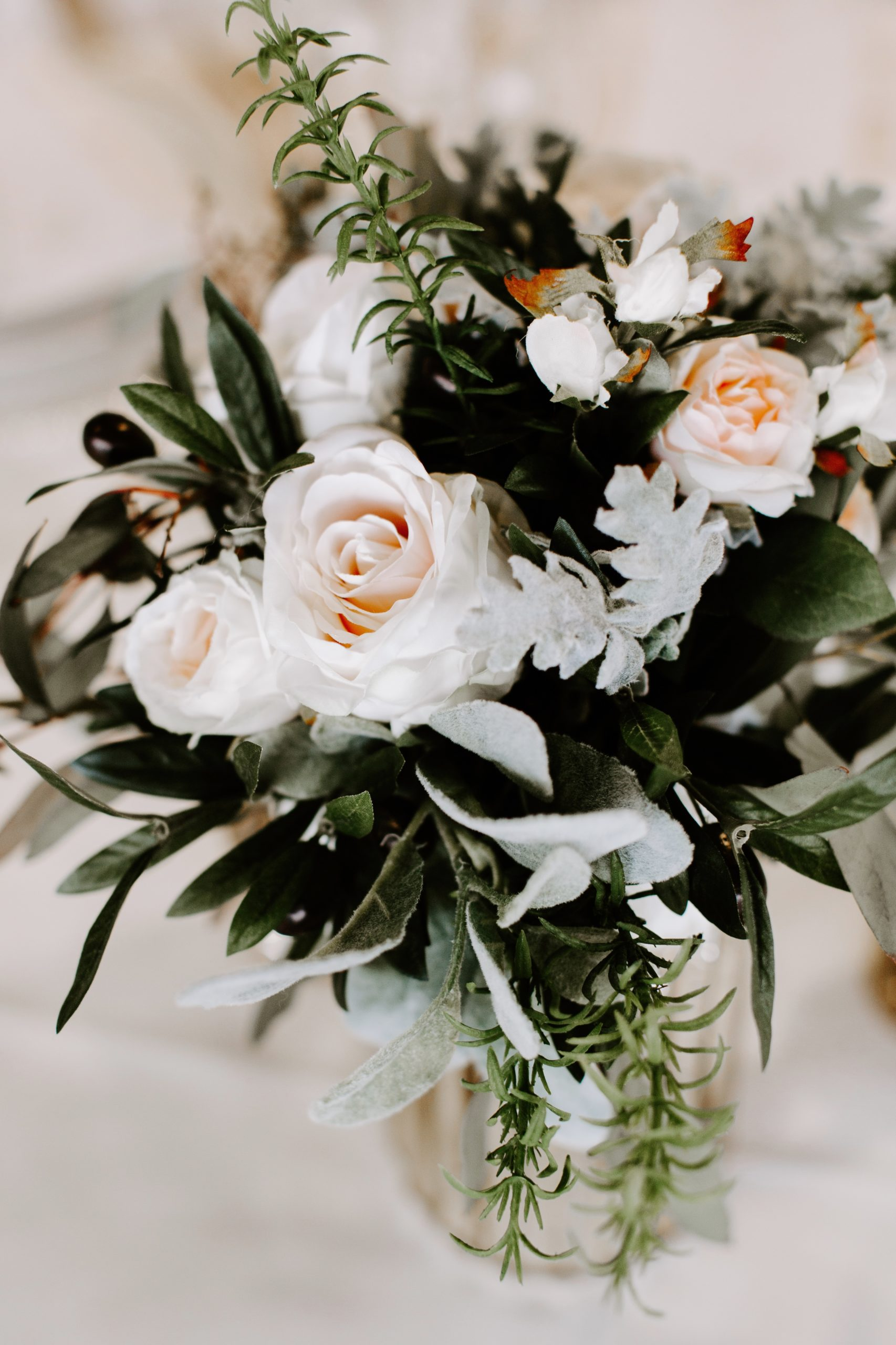 Something Borrowed Blooms bridal bouquet
