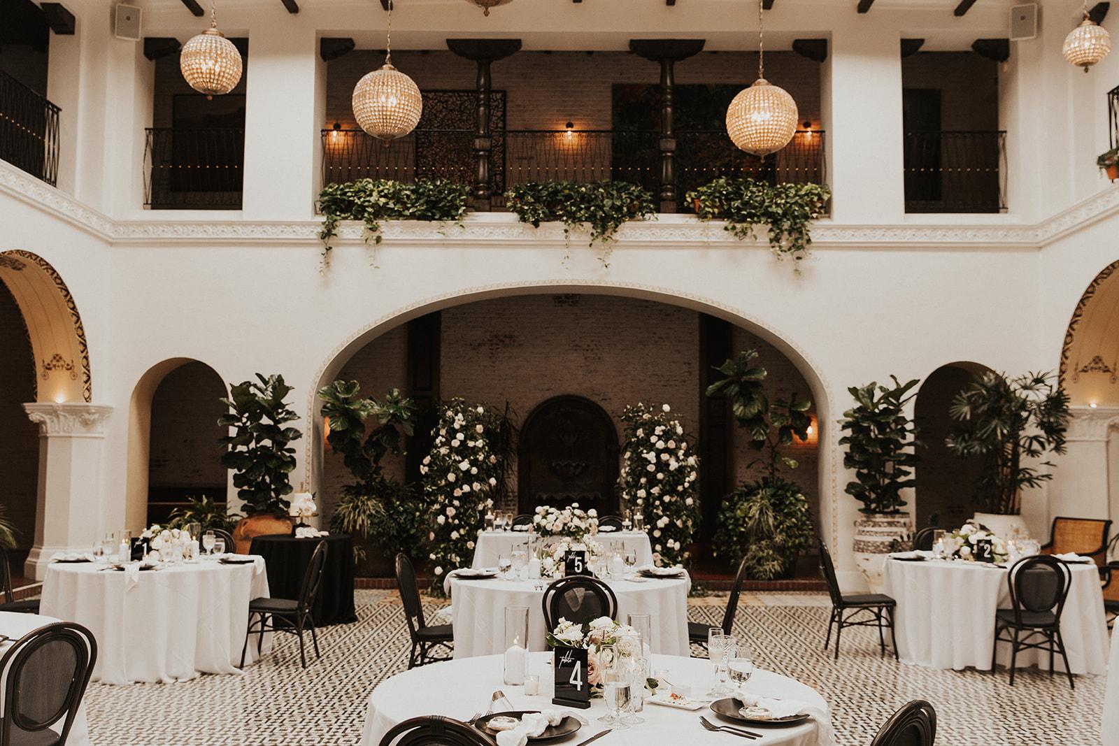 Ebell of Long Beach wedding reception