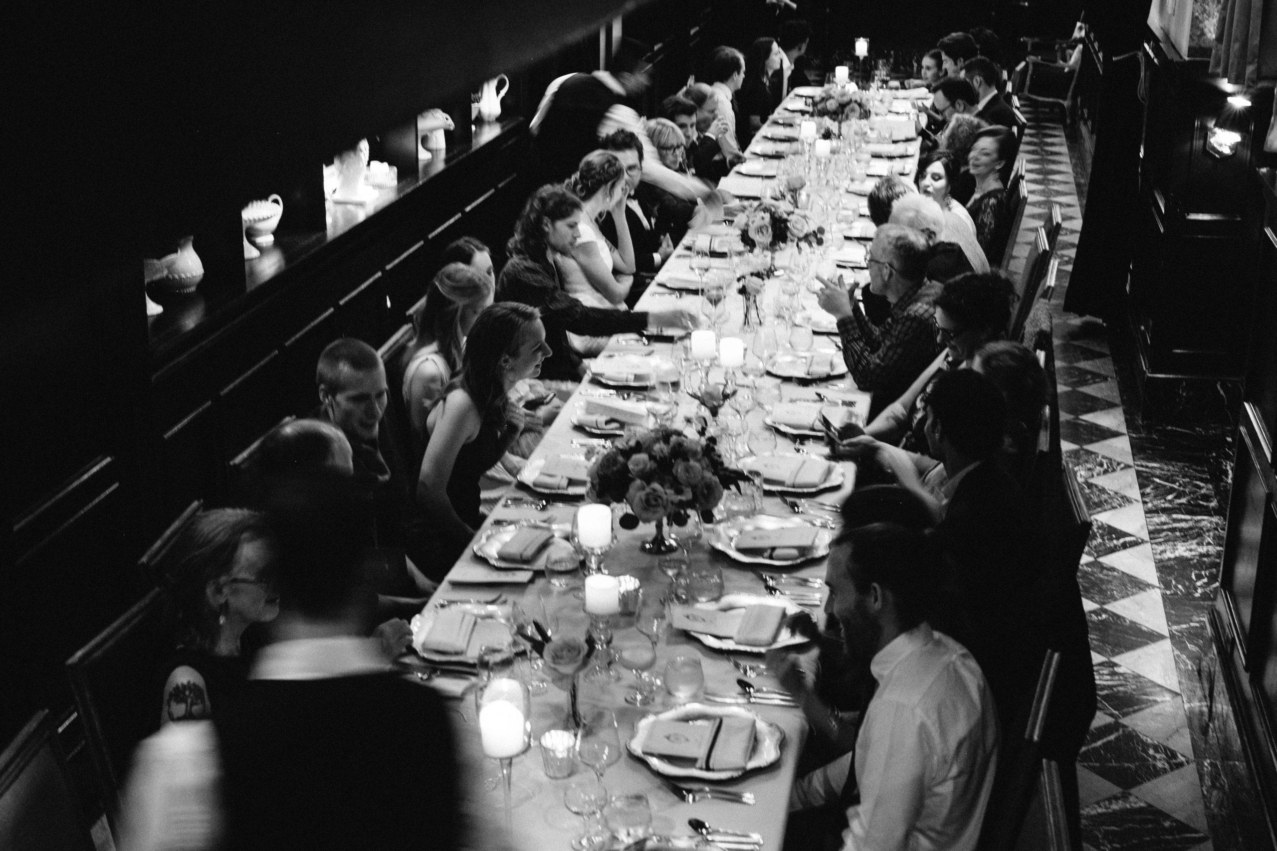Culver Hotel dinner reception