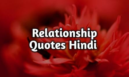 relationship quotes hindi