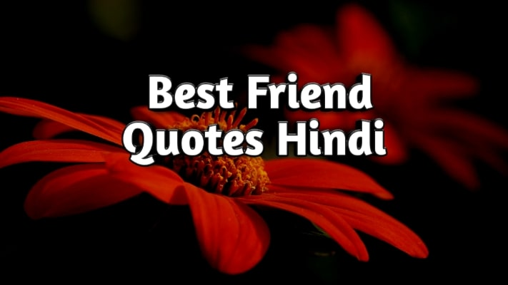 Best Friends Quotes In Hindi | Dosti Quotes