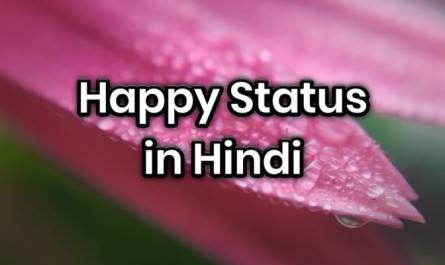hppy status in hindi