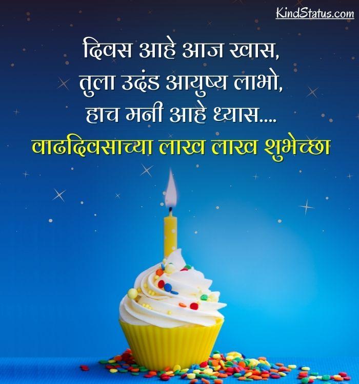 जन्मदिवसाच्या मनःपूर्वक शुभेच्छा
