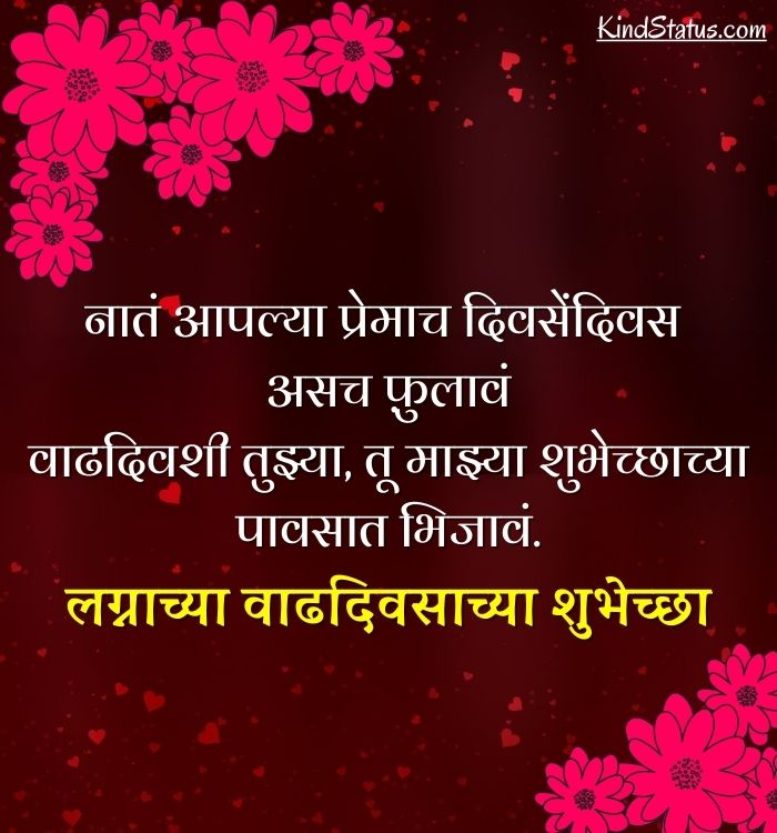 anniversary wishes for mom dad in marathi
