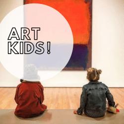 Kind und Kunst Art Kids Kinderführung Berlin mit Kind Kunstführungen für Kinder Mark Rothko
