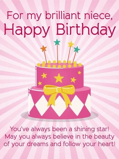 Happy Birthday To My Little Niece : happy, birthday, little, niece, Happy, Birthday, Niece, Quotes, Wishes, Images