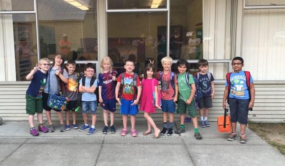 The older kids in 2018.