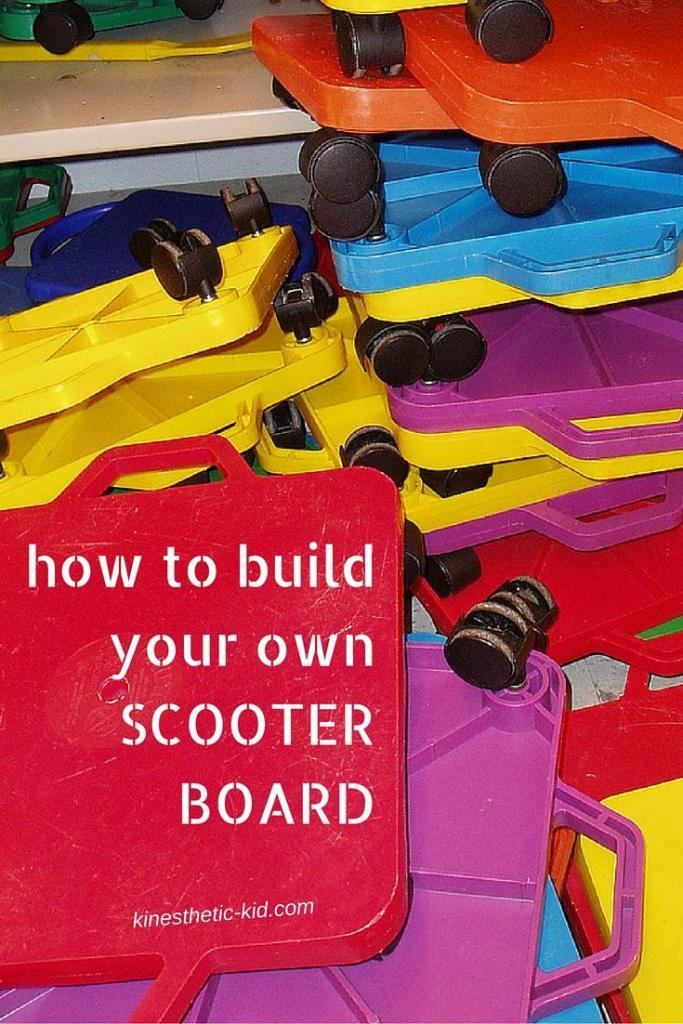 build your own scooter board