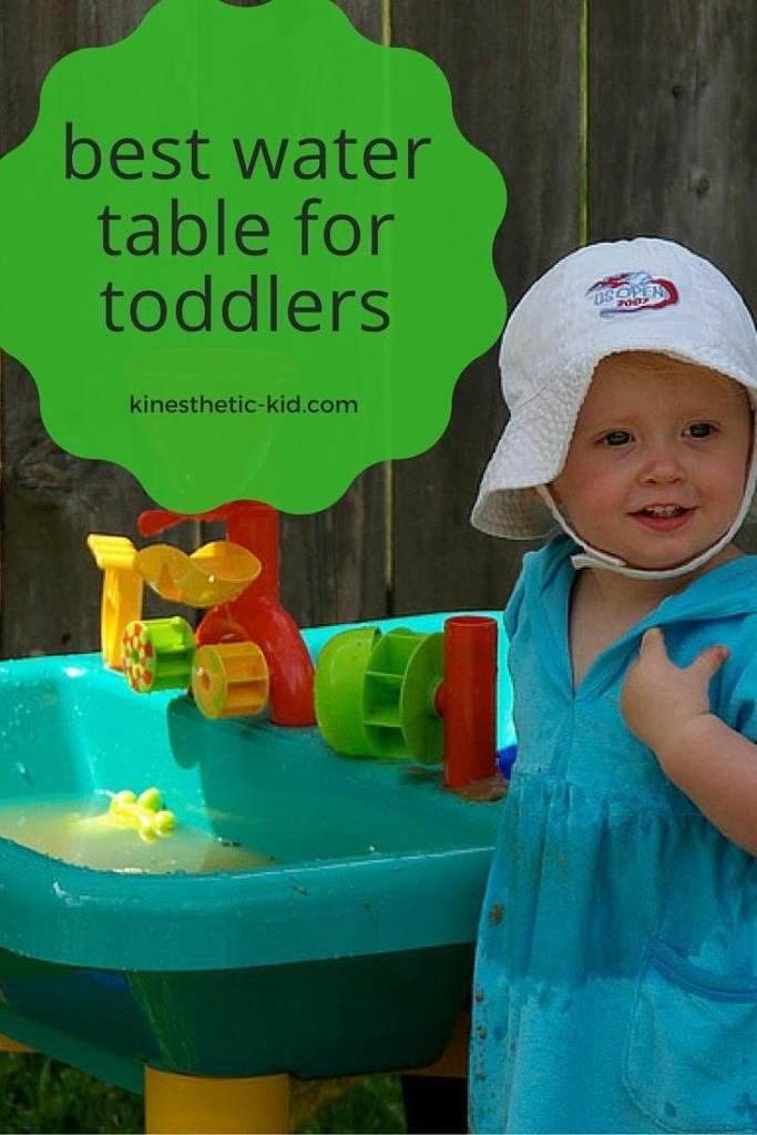 best water table for toddlers - kinesthetic-kid.com
