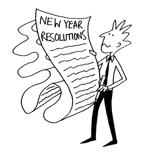 New Year Resolutions to get your marketing in shape for