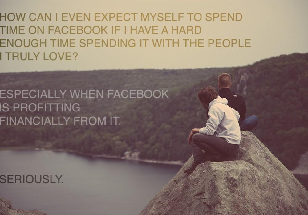 4 Big Reasons Why I'm leaving Facebook.
