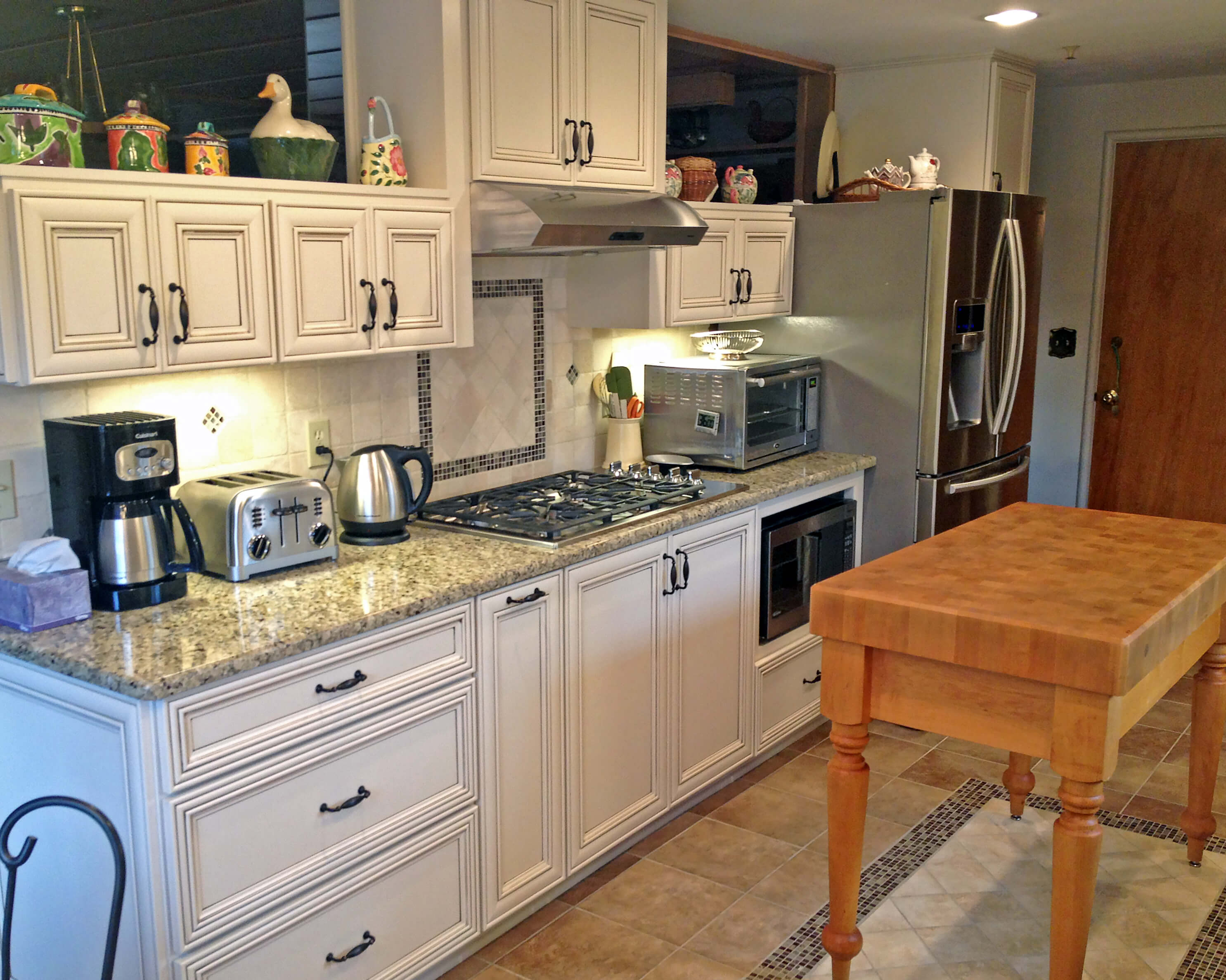 remodel works bath & kitchen metal island cart kinetic and gallery photo 10