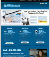Accountant Web Design  Kinetic Media LLC | Kinetic Media ...