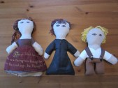 Tin Drum Poem Dolls