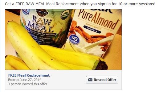 Facebook Offer!