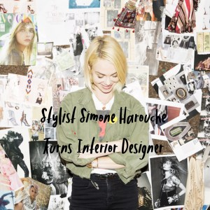 Stylist Simone Harouche Turns Interior Designer