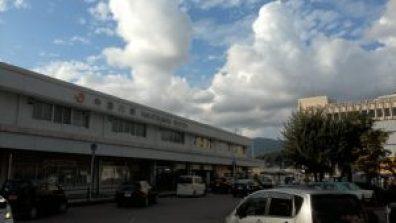 中津川駅前
