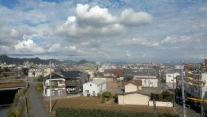 岐阜駅高架からの写真