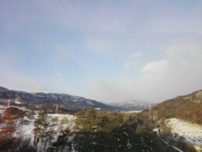 上越新幹線の車窓②