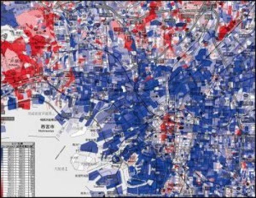 大阪の所得分布