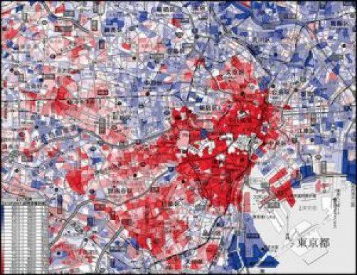 東京の所得分布
