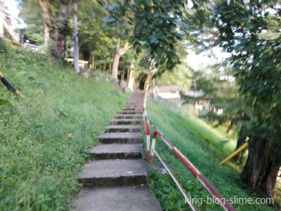 立石公園への道③