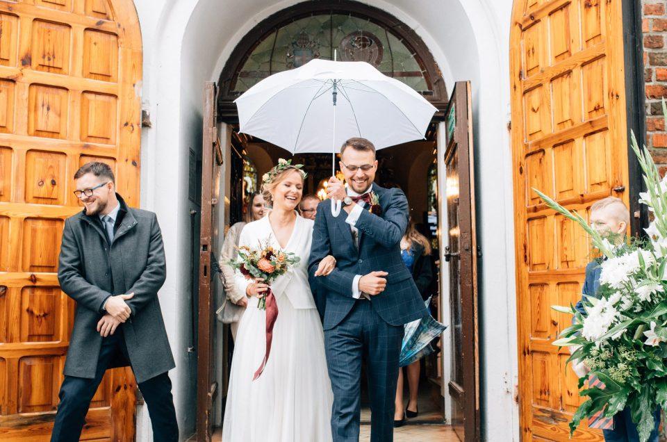 Jesienne wesele w Pałacu Śródka | Nat i Edmund