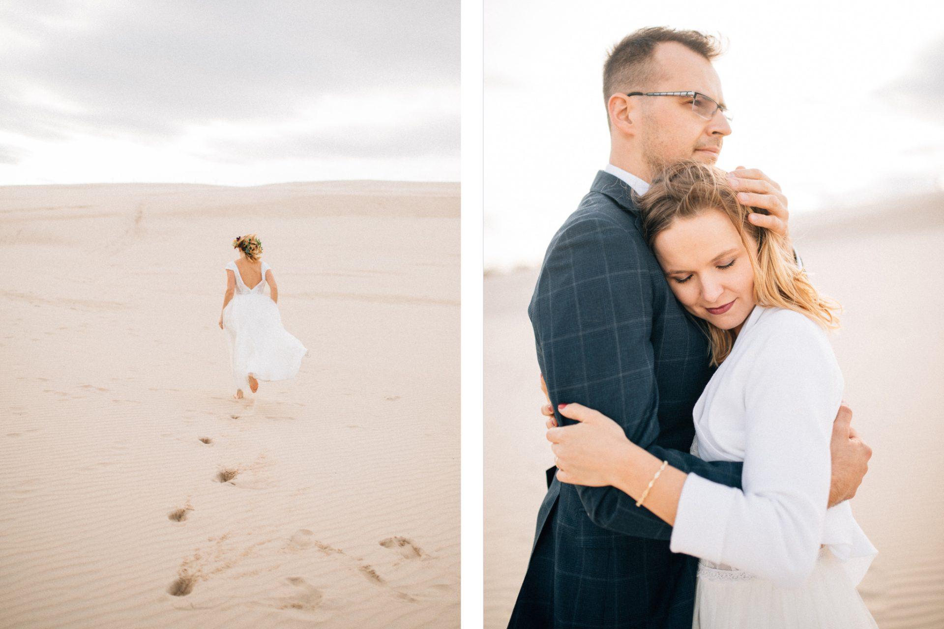 sesja-ślubna-na-wydmach-alternatywna-fotografia-ślubna-poznań
