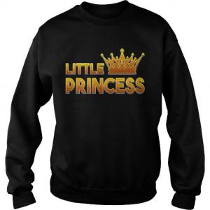 Prince and Princess sweatshirts
