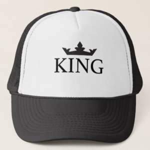 Cap Truck Royal Family King Coroa