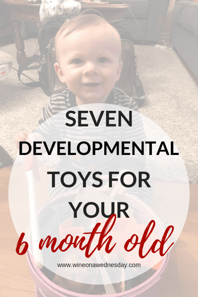 7 Developmental ToysFor Your 6 Month Old