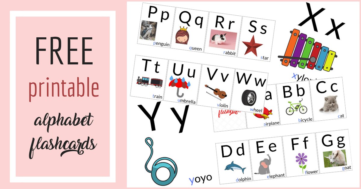 FREE Alphabet Printables for Toddlers - KingasCorner