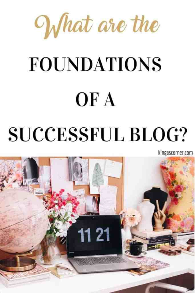 foundations of a successful blog