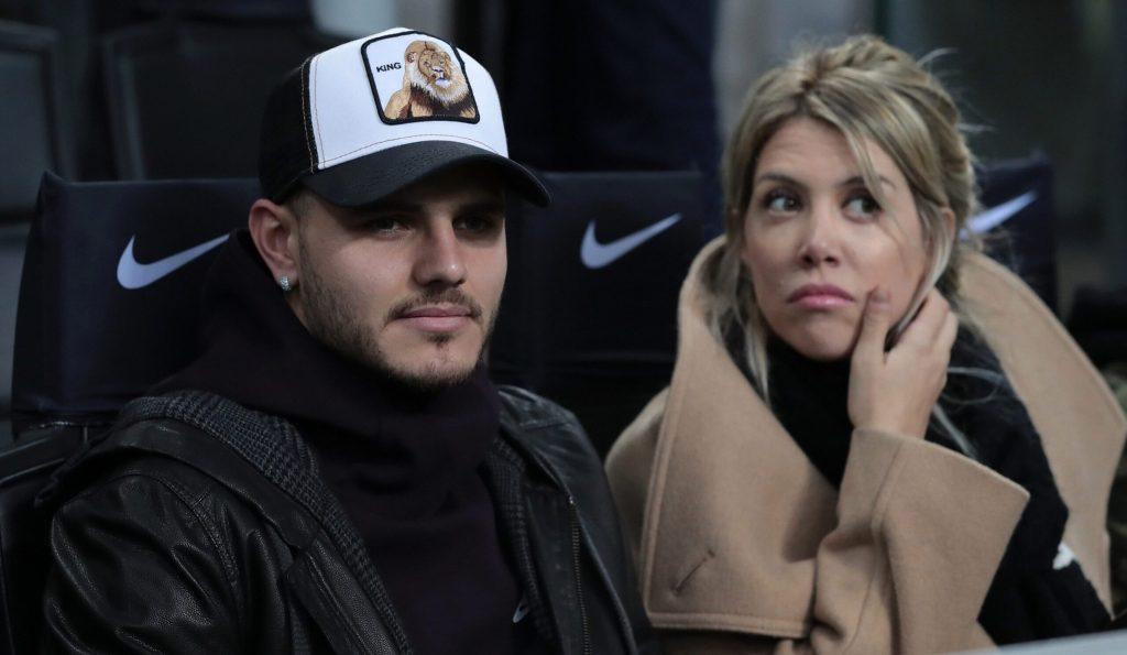 Mauro Icardi and Wife