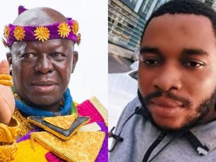 Twene Jonas and Otumfour