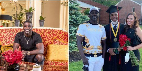 Akon son graduated