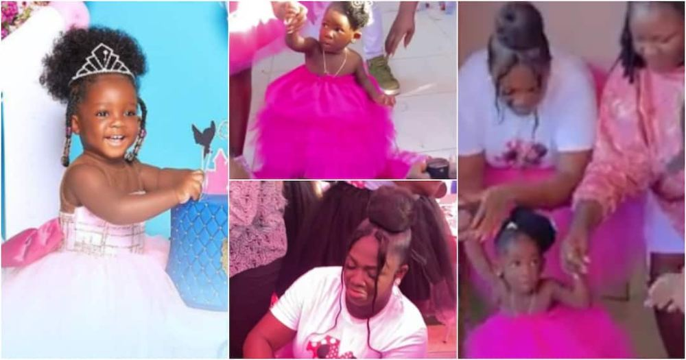 Tracey Boakye daughter birthday party