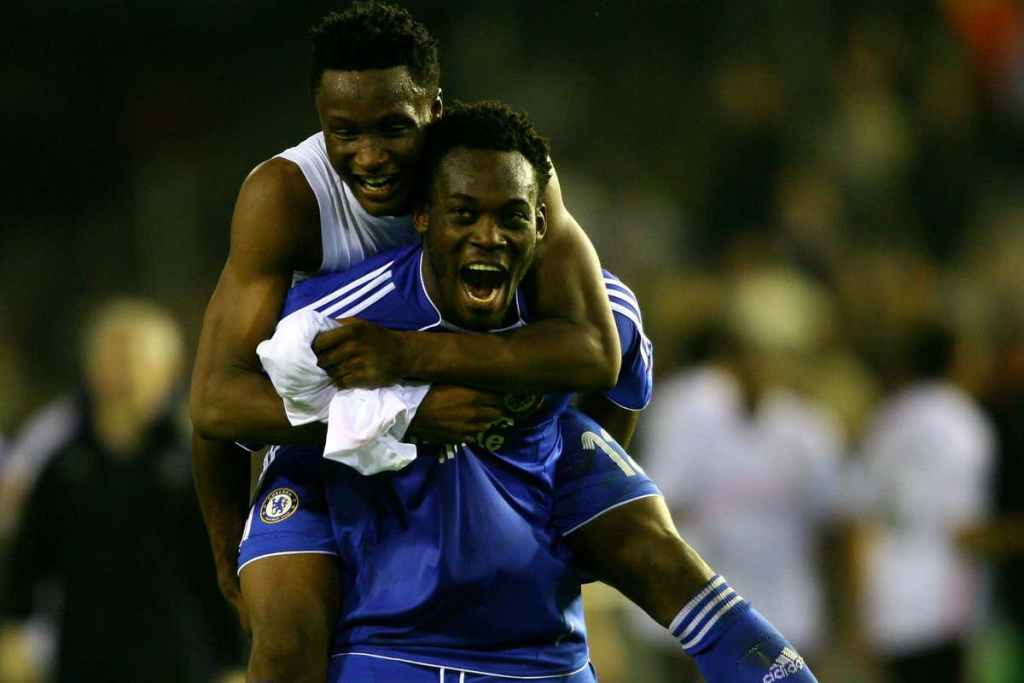 Essien Really Helped Me At Chelsea - Mikel Obi Opens Up On Relationship With Former Teammate