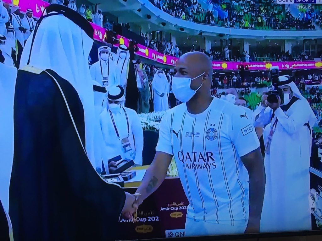 Ghana Captain Andre Ayew Wins First Trophy In Qatar After Al Sadd Victory In Emir Cup Final