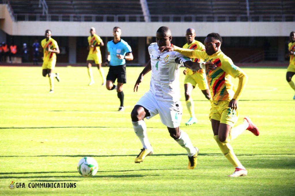 Ghana Defender Jonathan Mensah Heaps Praise On Ghana Teammates After Double Win Over Zimbabwe